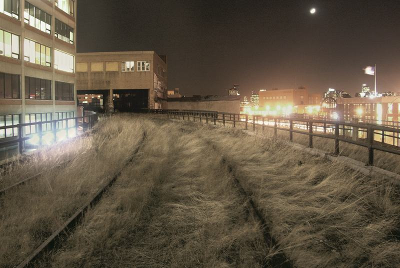 The High Line, circa 2004. Picture credit: Courtesy of Florent Morellet