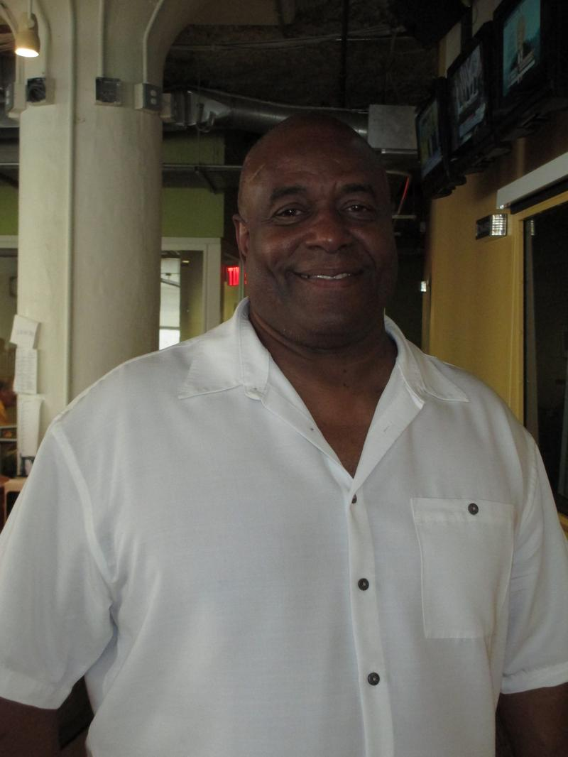 Ken Griffey, Sr., at WNYC July 15, 2014
