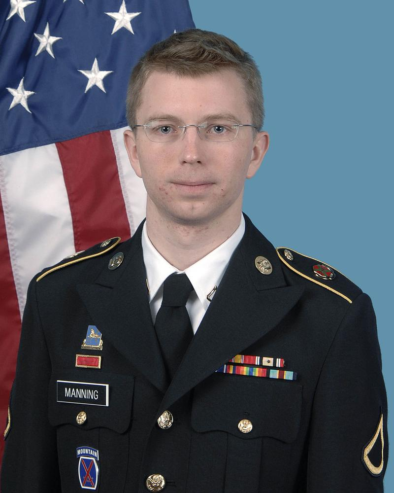 United States Army photograph of Bradley Manning