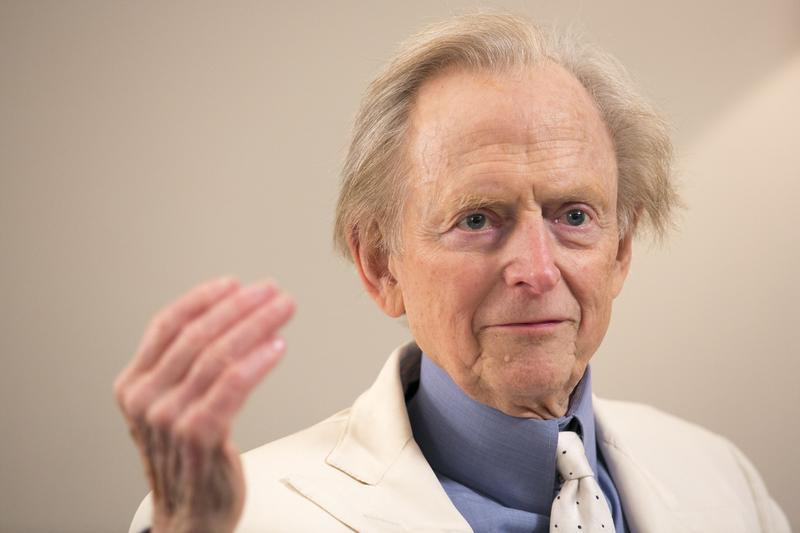 Writer Tom Wolfe joins us in studio for an interview on his latest book.