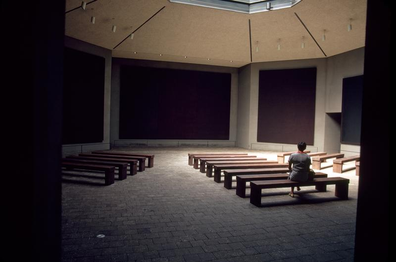 Rothko Chapel Interior