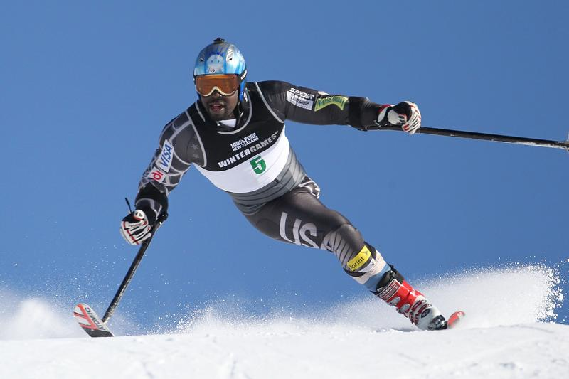 Ralph Green of the United States of America competes in the Super G -Able body & Adaptive on day 15 of the Winter Games NZ at Mt Hutt on August 27, 2011 in Christchurch, New Zealand.
