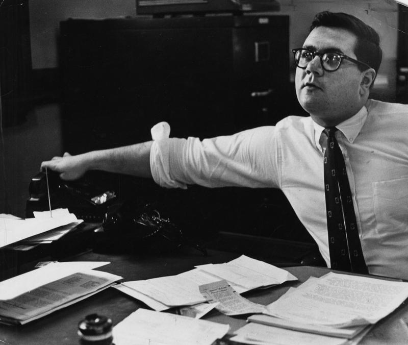 1968, Barney Frank when he was assistant to Boston Mayor Kevin White