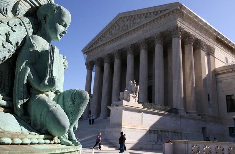 The exterior of the U.S. Supreme Court on March 26, 2012 in Washington, DC.