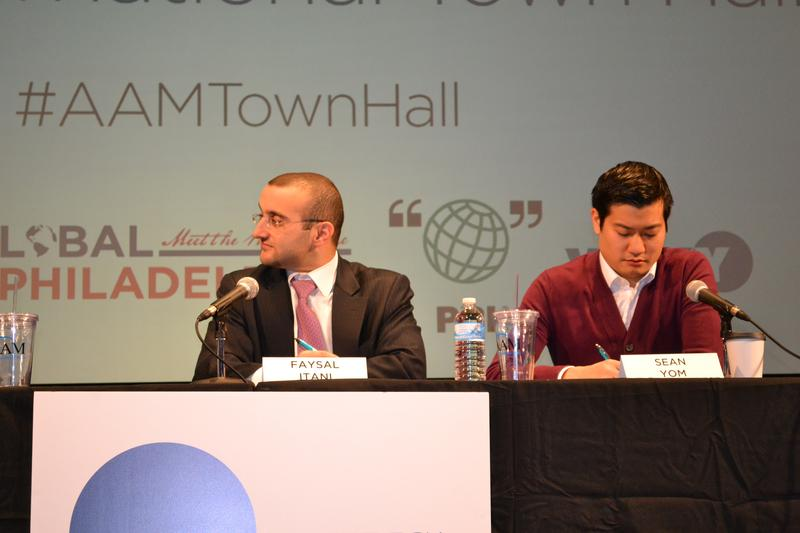 A town-hall meeting from America Abroad connecting audiences in Philadelphia and Amman.