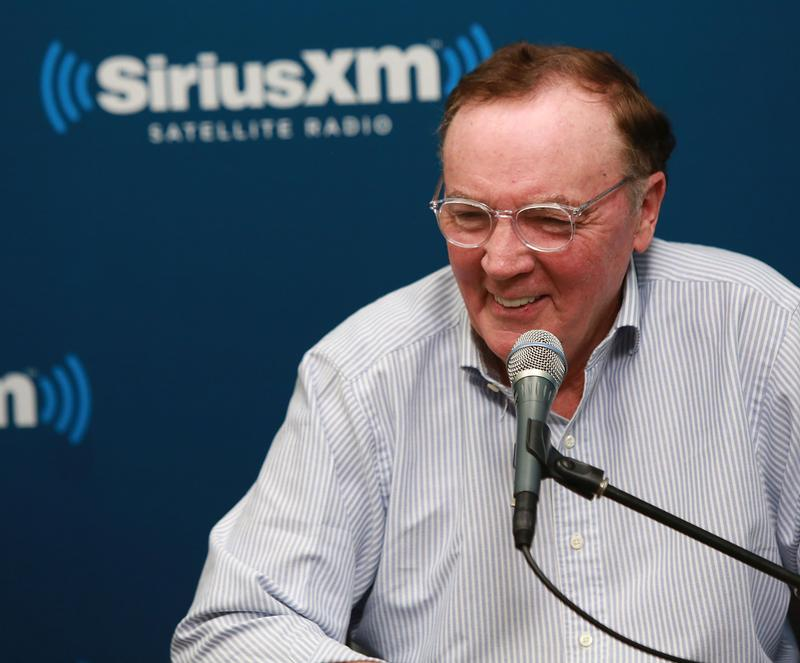 Best-selling author James Patterson in a 2013 appearance on Sirius XM radio.