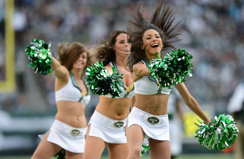 Former Jets Cheerleader Hoping to Score Higher Wages