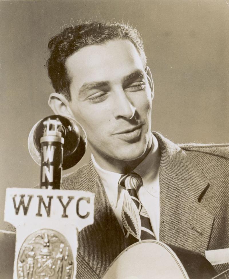 Oscar Brand on WNYC circa 1946