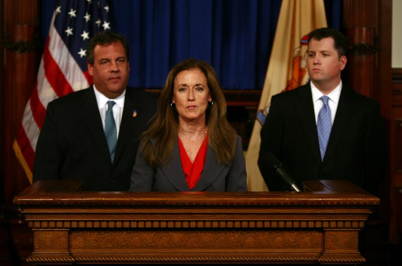 Regina Egea, director of the authorities unit in Gov. Christie's office. was named chief of staff in December. That promotion was put on hold after Bridgegate. She was to replace Kevin O'Dowd (right).