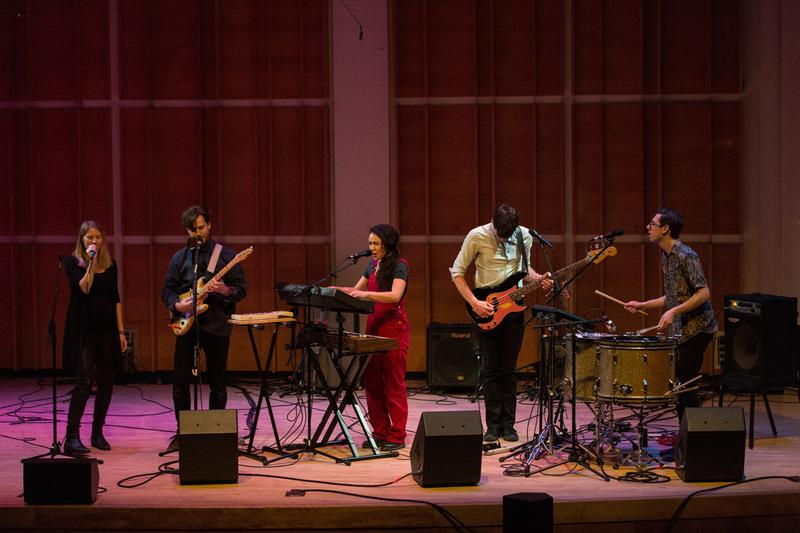 Lesley Flanigan and People Get Ready at Ecstatic Music Festival 2014