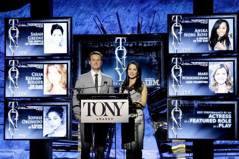 The 2014 Tony Awards Nominations Ceremony , April 29, 2014