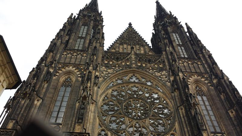 St. Vitus, St. Wenceslas, St. Adalbert Cathedral at Prague Castle, Prague