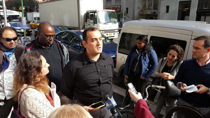 Former Uber driver Levon Aleksanian filed for unemployment benefits after he lost his job.