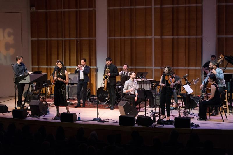 San Fermin and NOW Ensemble perform together at the 2017 Ecstatic Music Festival