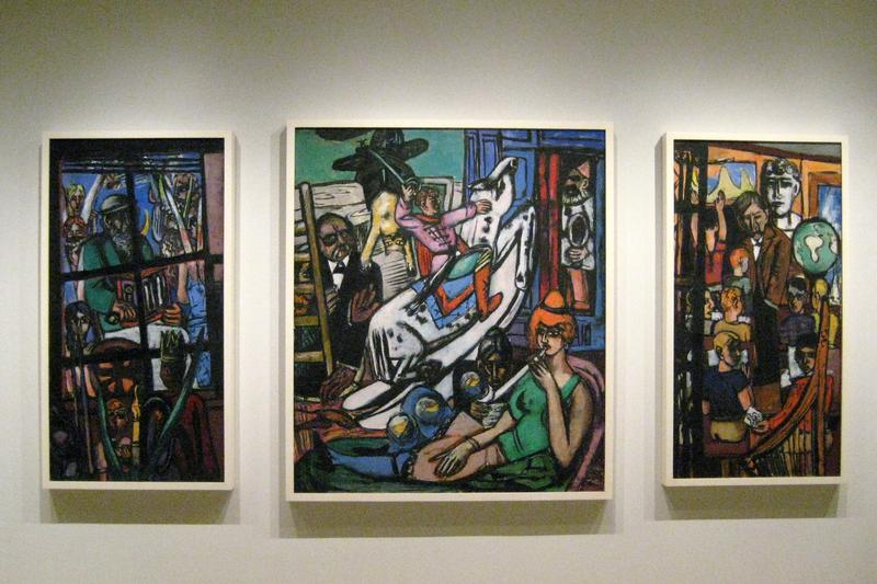 Max Beckmann's work at the Metropolitan Museum, made possible by the National Endowment for the Arts