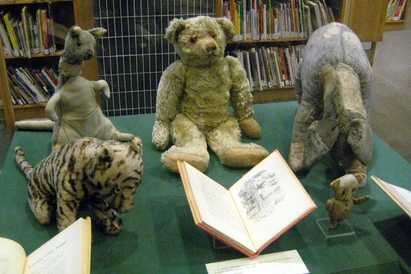NYC Donnell Library Center - Winnie-the-Pooh and Friends