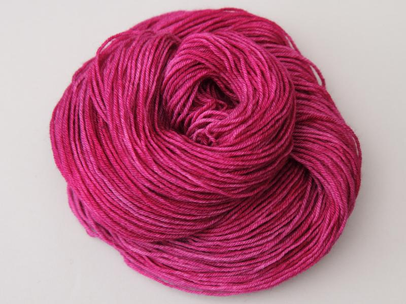 Hot pink yarn is a hot commodity