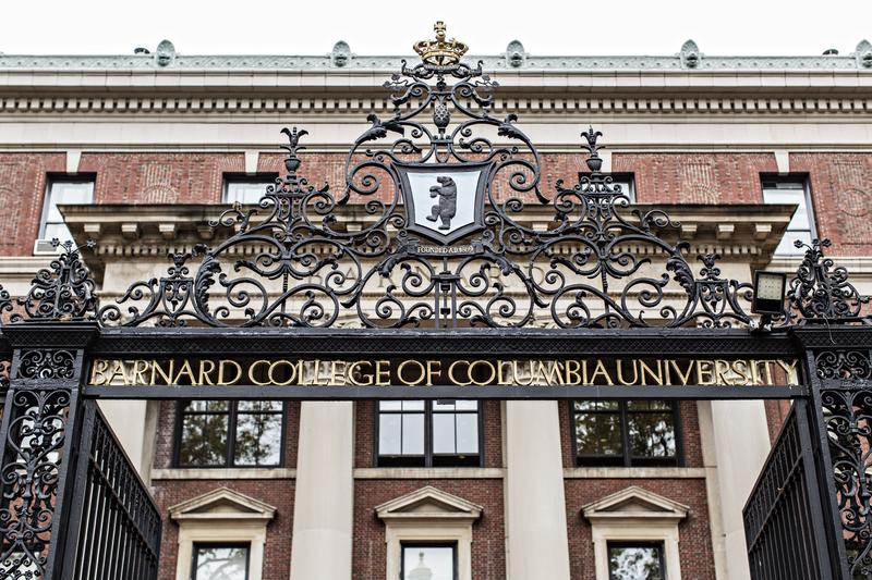 Barnard College  Dorothy Hong/Courtesy of Barnard College
