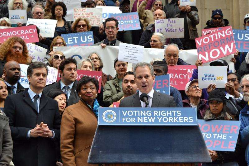 Same-Day Voter Registration In New York Proposed By Eric Schneiderman