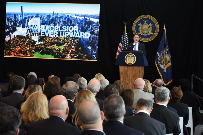 Governor Cuomo delivers first 2017 State of the State address in Manhattan at One World Trade Center.