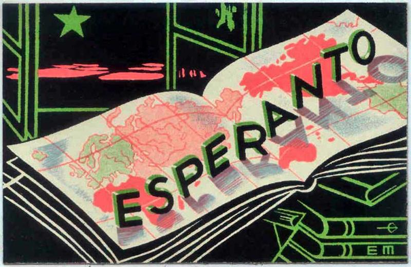 Esperanto is a language created in 1887 that was intended for the world to use to communicate.