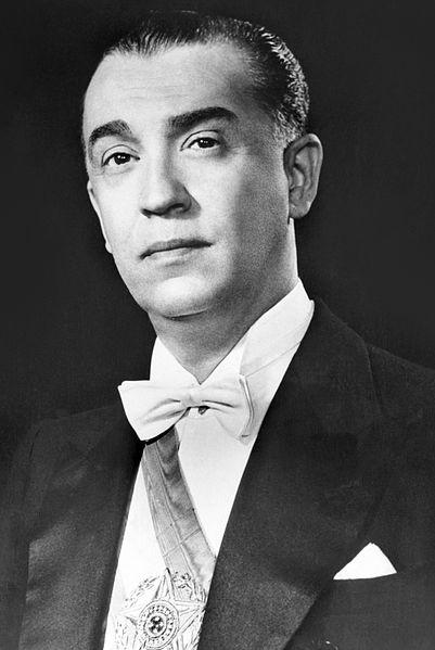 Juscelino Kubitschek as President of Brazil.