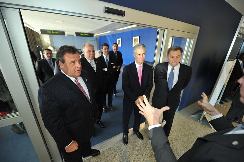Governor Christie, Steve Sweeney, Jeff Smisek, David Samson