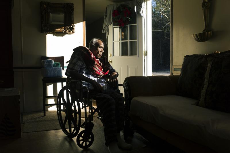 "Chocolate Blount, 91, is a Medicaid recipient. Some 22 states have opted out of Medicaid expansion, a move that has left nearly 4 million poor, uninsured adults in the so called ""coverage gap."""
