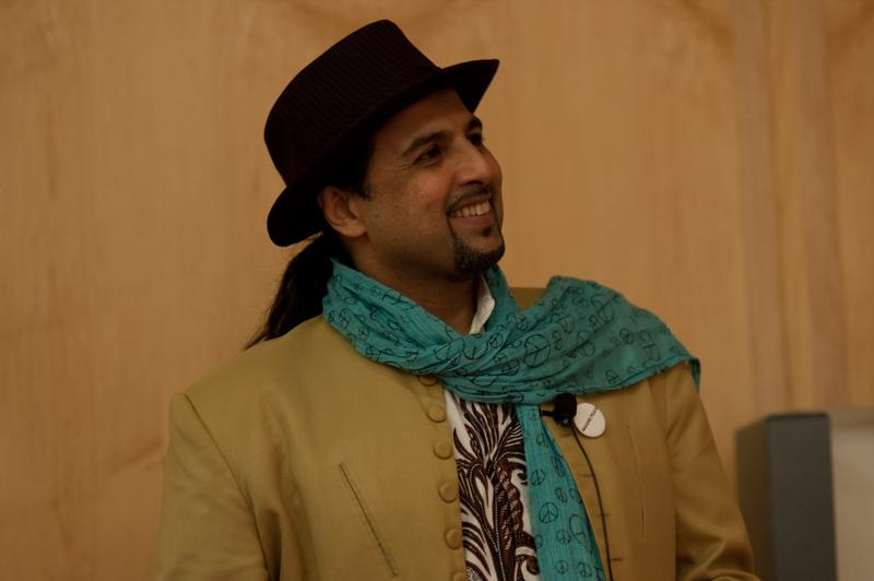 Musician Salman Ahmad of the band Jujoon