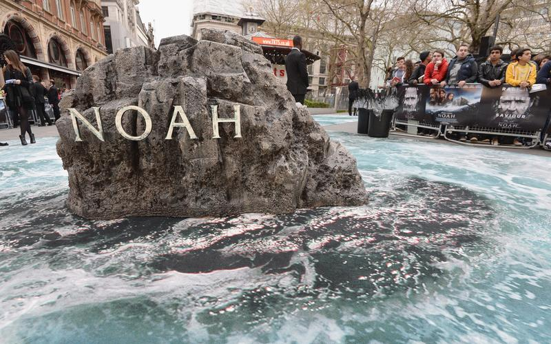 "View of Leicester Square ahead of the UK Premiere of ""Noah"""
