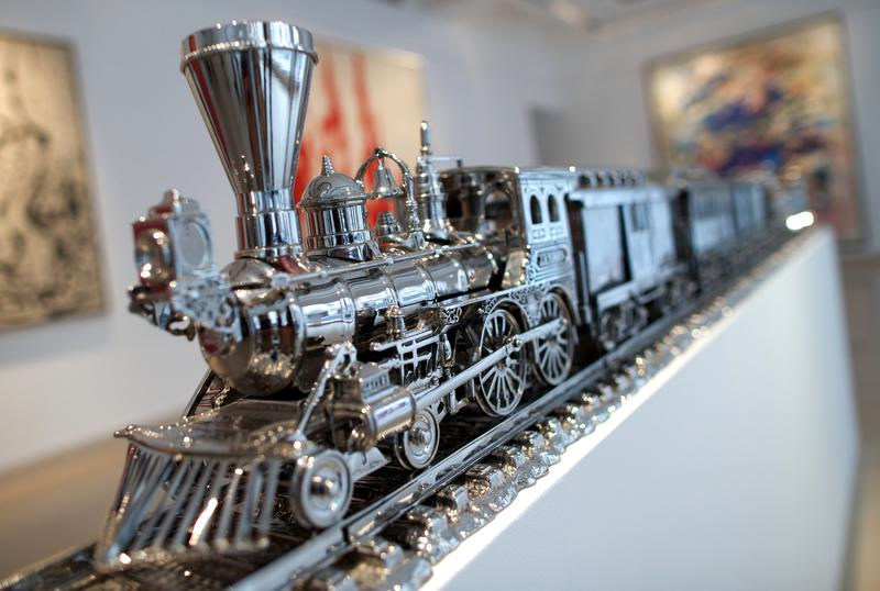 """Jim Beam D J.B. Turner Train"" by Jeff Koons"