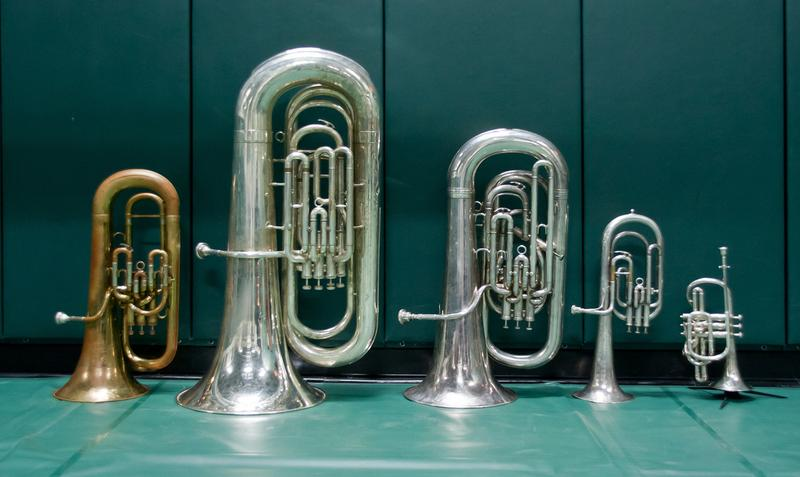 Some conical brass