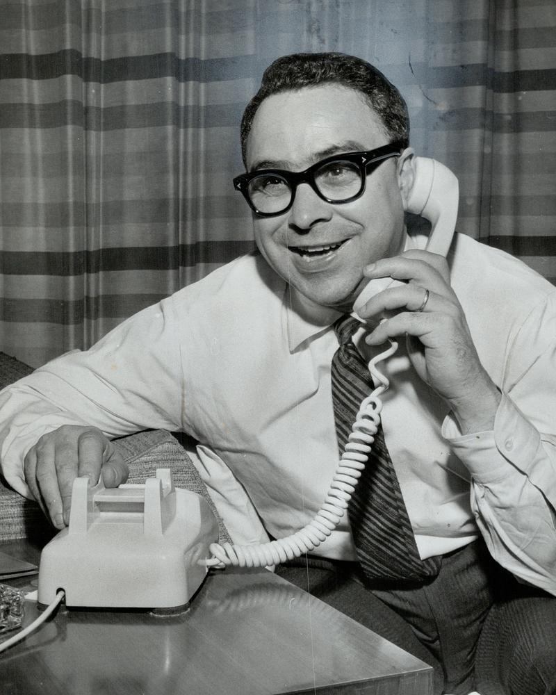 CANADA - February 27, 1962: Art Buchwald: Paris is his beat. Other newspapermen get madder and madder at him.