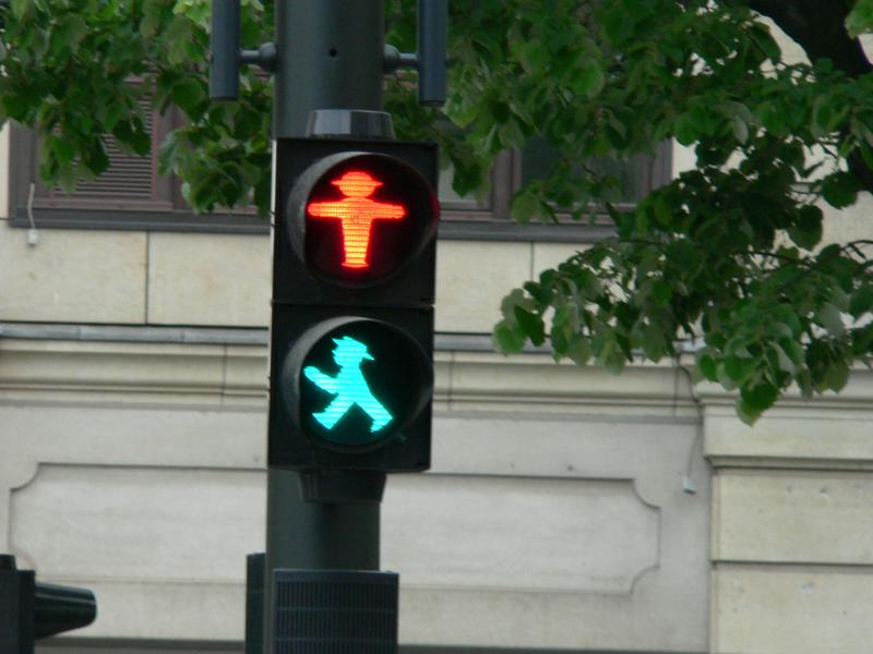 Ampelmännchen -- crosswalk signals that are an enduring symbol of East Germany