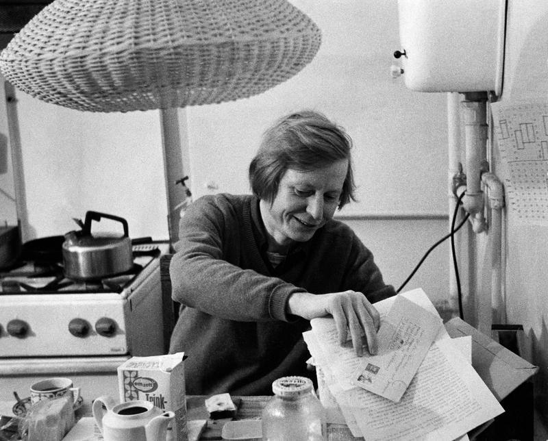 Hans Magnus Ensensberger- Schriftsteller, D, - Portrait, - 1974