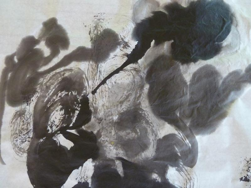 Live Painting to Sound by Janneke van Putten
