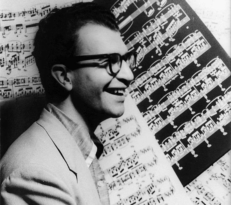 Dave Brubeck, October 8, 1954.