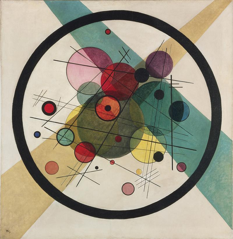 Vasily Kandinsky (Moscow 1866-1944 Neuilly-sur-Seine) Circles within a Circle, 1923.