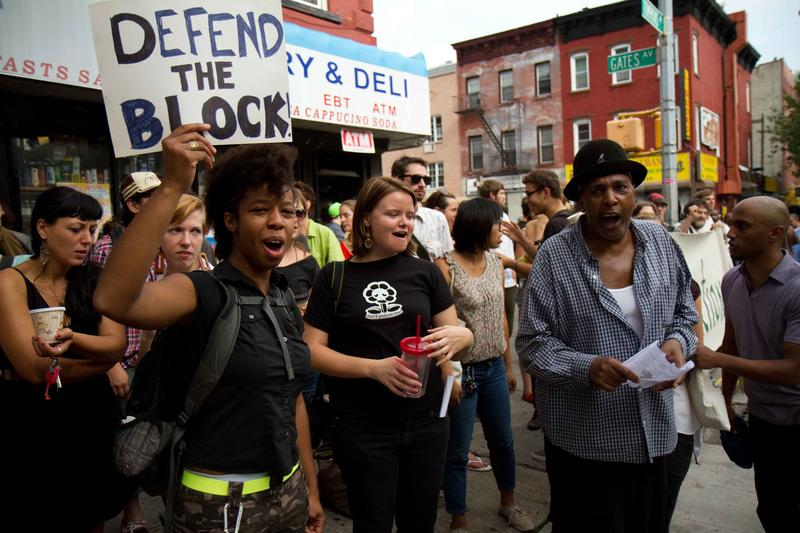 NYC Residents Band Together to Prevent Eviction of Elderly Bed-Stuy Homeowner.