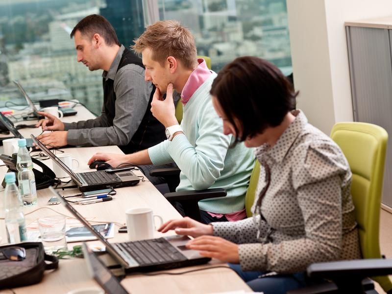 Open plan offices make privacy difficult and can exacerbate office tensions