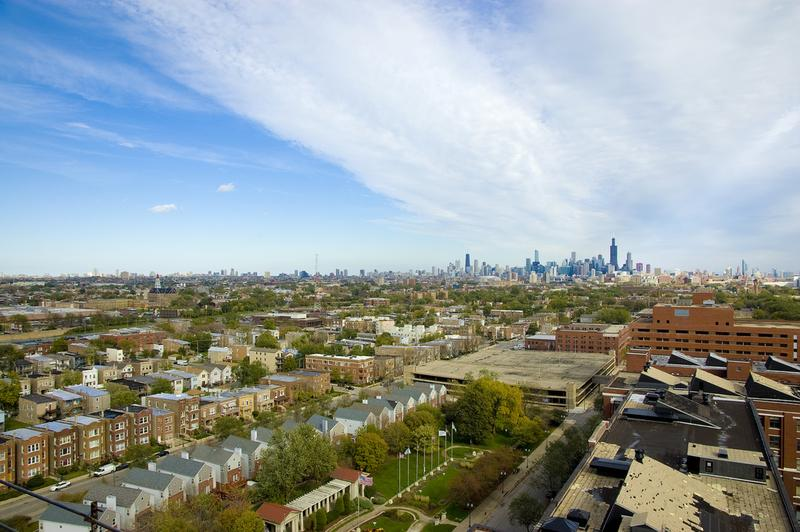 "A view of North Lawndale, the Chicago neighborhood profiled in Ta-Nehisi Coates's ""The Case for Reparations"""