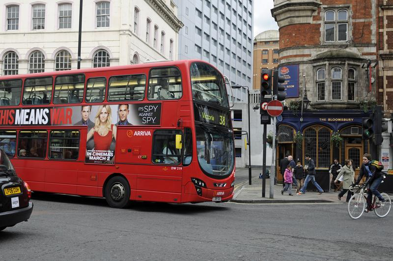 London's buses will test sensors designed to reduce pedestrian and bike crashes