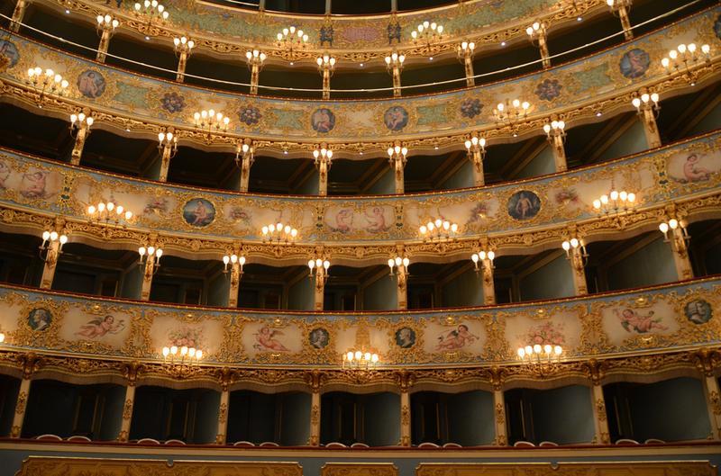 La Fenice Theater in Venice, Italy