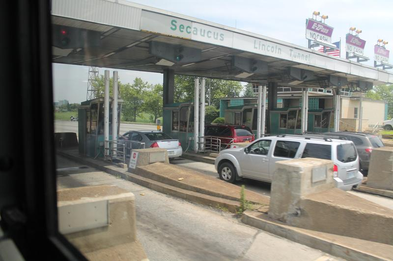 NJ Turnpike toll booths