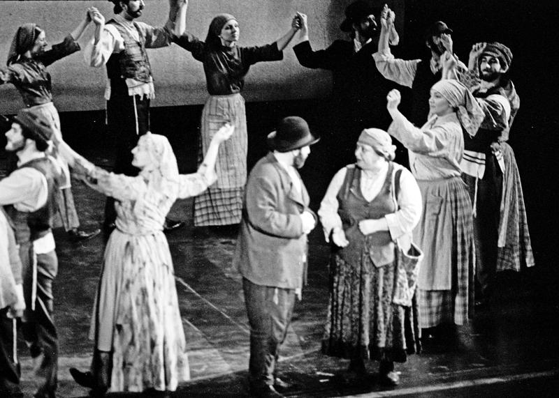 'Fiddler on the Roof' on Broadway - 1977