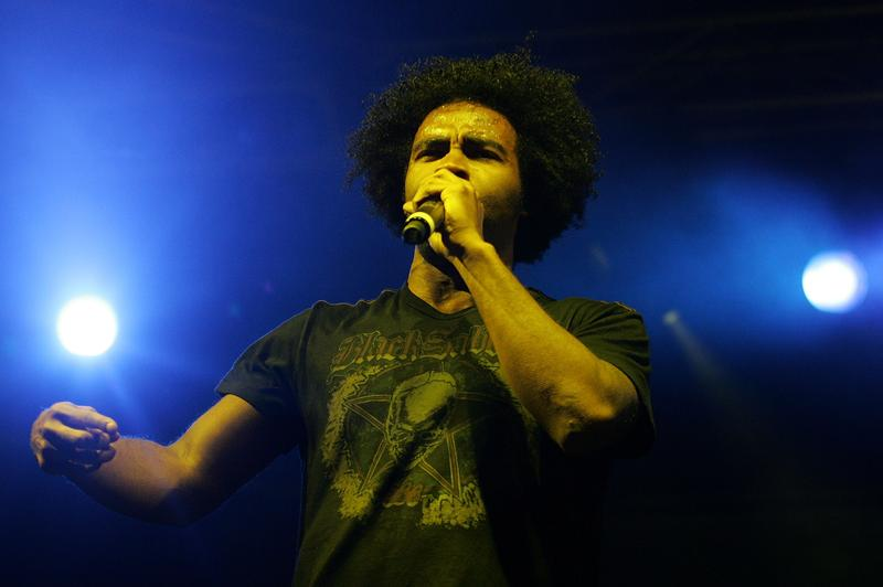 Pharoahe Monch performs on stage during the 2008 Good Vibrations Festival on Heirisson Island February 17, 2008 in Perth, Australia.