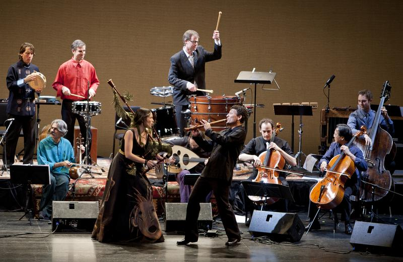 The Silk Road Ensemble with Yo-Yo Ma performing at the Mondavi Center