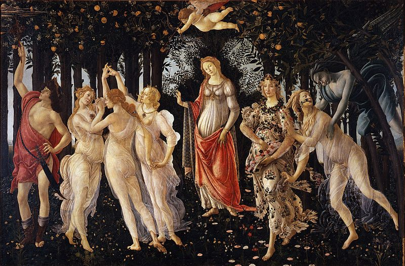 """Sandro Botticelli's """"Primavera"""""""