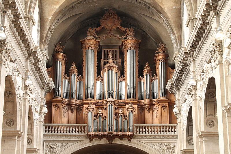 The Cavaillé-Coll organ of the cathedral of Nancy (France)