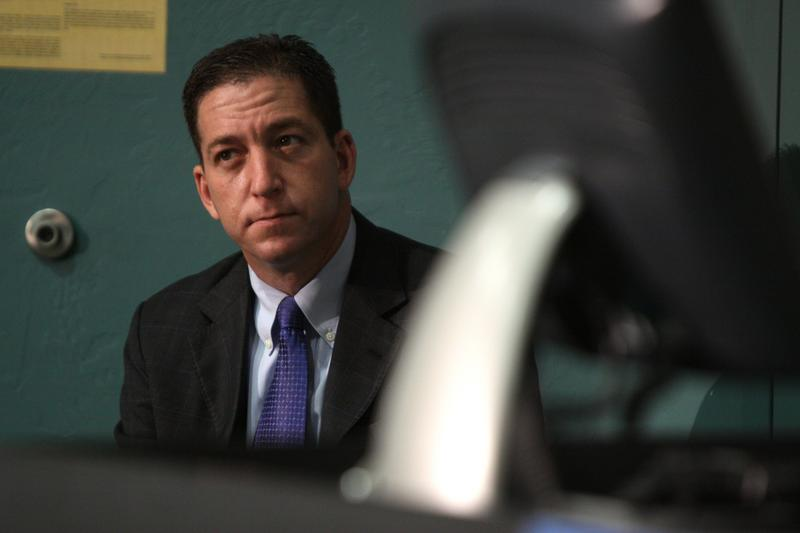 Glenn Greenwald at the Young Americans for Liberty's Civil Liberties tour at the University of Arizona in Tucson, Arizona. October 18, 2012